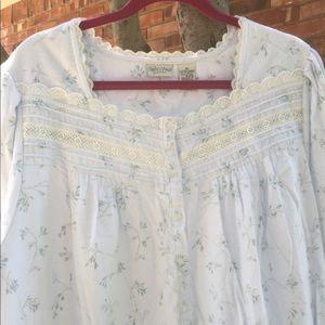 Women's 1X full length nightgown housecoat A49